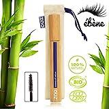 ZAO Volume & Sheathing 085 Mascara in a Black Ebony in Bamboo Container Certified Bio / Ecocert / Cosmebio / Natural Cosmetics by Zao Organic Makeup
