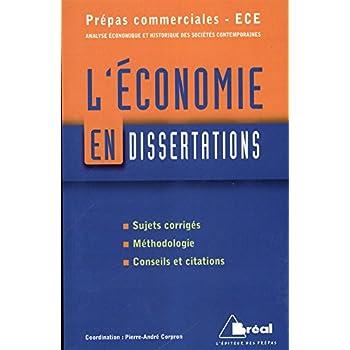 L'économie en dissertations