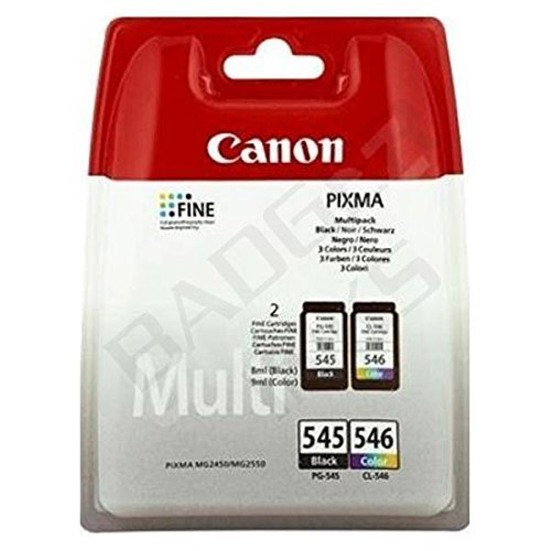 Canon Original CL-546 / PG-545 Combo ink Pack (02 Pack Combo)