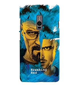 ColourCrust OnePlus 2 Mobile Phone Back Cover With Breaking Bad - Durable Matte Finish Hard Plastic Slim Case