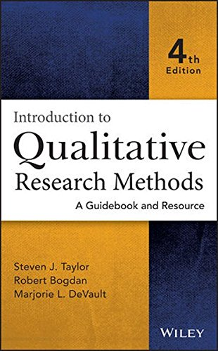Introduction to Qualitative Research Methods: A Guidebook and Resource