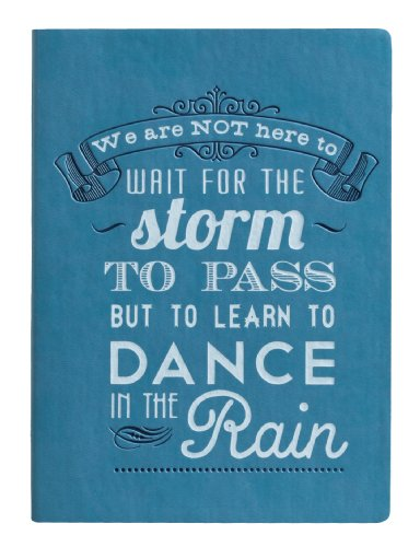 Eccolo World Traveler Essential Collection, 5 x 7 Inches Lined Journal, Blue Wait for the Storm (D316A) by Eccolo -