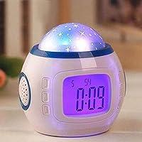 ZML Moderne Minimalistische Projektion Wecker Nacht Persönlichkeit stumm Elektronische Uhr Kreative Leuchtende... preisvergleich bei billige-tabletten.eu