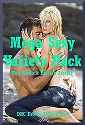 Mega Sexy Variety Pack: Ten Explicit Erotica Stories (English Edition)
