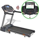 vidaXL Laufband Heimtrainer Fitnessgerät Sportgerät 3 PS Bluetooth App klappbar