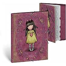 Carpeta con separadores Gorjuss A4 - The heartfelt