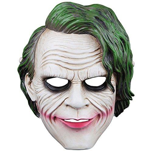 Joker Batman Dark Knight Harz Replik Film Thema Cosplay Maske Für Party Sammlung,BlackKnightMask-26*20*10cm