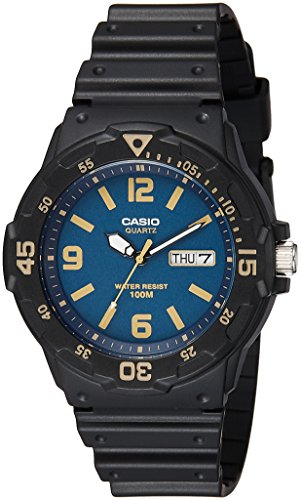 Casio Youth Analog Blue Dial Men's Watch-MRW-200H-2B3VDF (A1184)