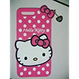One Plus 5 Back Cover - Dream2Cool Printed Hello Kitty Soft Rubber Silicone Pink Back Cover Case For One Plus 5 -Pink