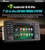 Autoradio Erisin ES7981R 7' 8-Core Android 9.0 WiFi GPS Dab+ Mercedes Benz R Class W251