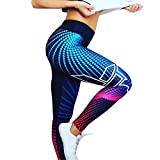 Polainas Leggins de Impresión 3D para Mujer, LILICAT® Chandal Mallas Deportivos Cintura Alta Push Up de Fitness, Pantalones Ropa Elasticos de Deportes/Gimnasio/Yoga/Running/Correr/Pilates/Gym Skinny, Leggings en Oferta Verano Moda (M, Multicolor)