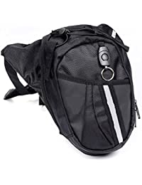 Outgeek Outdoor Leg Bag, Motorcycle Riding Waist Bag Sports Waist Pack Canvas Drop Leg Bag