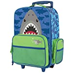 Stephen Joseph Boys Rolling Luggage Shark