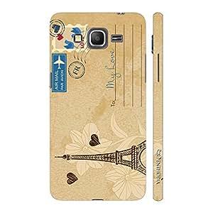 Enthopia Designer Hardshell Case Postcard With Love Back Cover for Samsung Galaxy J7
