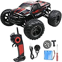 2.4GHz 1:12 Remote Controlled Cars RC Monster Truck Up to 50MPH High Speed RC Buggy with 80 Meters Remote Range (Upgraded)