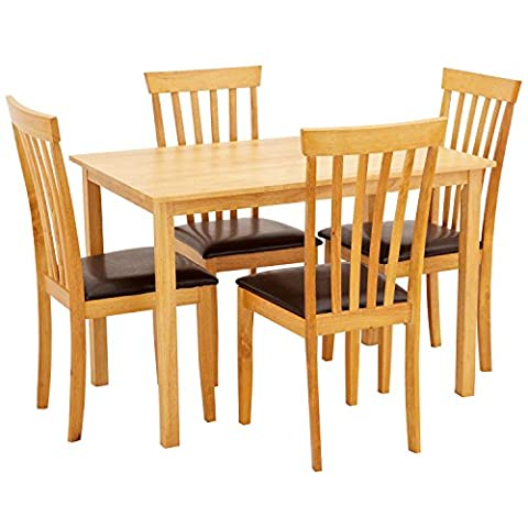 Center One 4 Seater Dining Set - Newark Dining Table