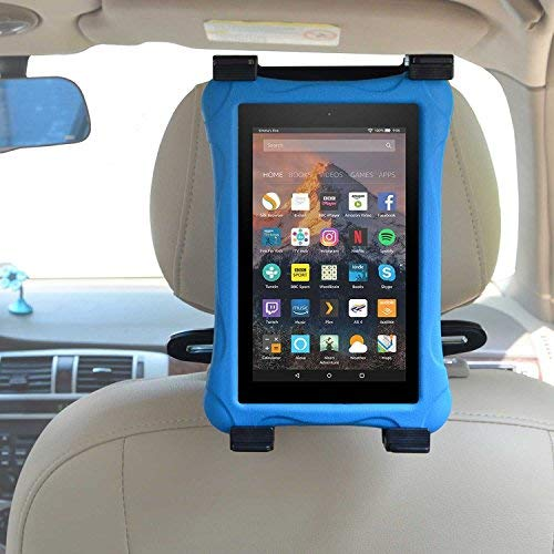 Zhiyi Auto-Kopfstütze Halterung, Universal KFZ-Kopfstützen Tablet Halterung für Allen 6-11 Zoll Kindle Fire - Fire/HD / & Kindle Fire Kid Edition - Hd 9 Fire Fall Kindle