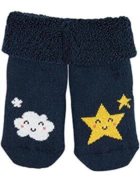 FALKE Unisex Baby Socken Good Night Erstling, Blau (Marine 6120), 50 (Herstellergröße: 50-56)