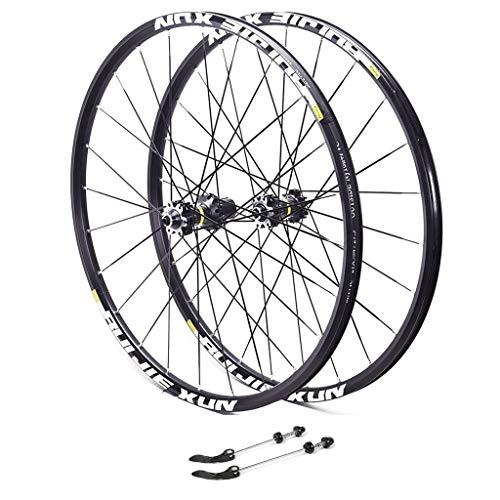 Fahrrad Laufrad 27.5 Zoll, Aluminiumfelge Laufrad Hinterrad V-Profil Felge Vollachse Schwarz 8/9/10/11-fach Für (Color : B, Size : 27.5) -