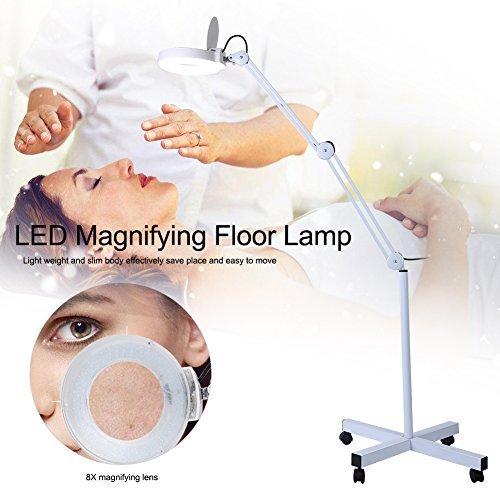 Lupenleuchte MIT Led - Licht und Lupe Lupe Lampe, 8 - Mal sehen können verstärkt Kleine objekte.Beauty - Lupe Lampe (Lampe Licht Lupe)