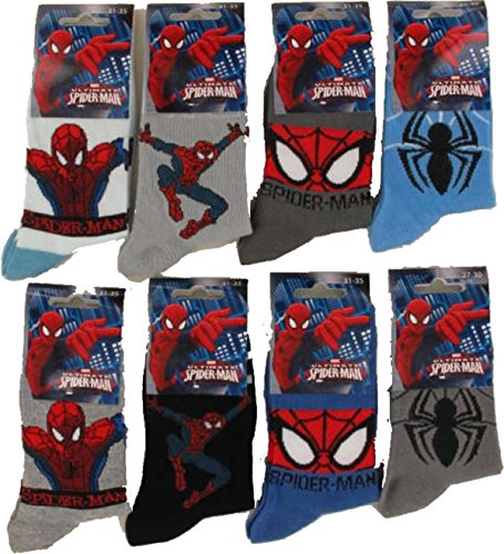 Spiderman Chaussettes enfant Modèle photo selon arrivage. Spiderman