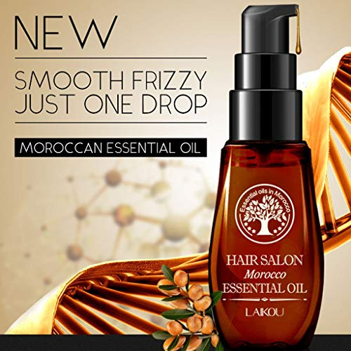 FENG 40ml Natürlicher Conditioner Glatter Conditioner Effizienter Conditioner Magical Hair Treatment für repariert Schaden Haarwurzel (braun) -