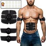 Abdominales eléctrico (esmk – Electroestimulador muscular EMS de muñeco de entrenamiento/mujeres Masaje de cinturón Electroestimulador TENS (grasa verbre nnungn Masaje de dispositivo …