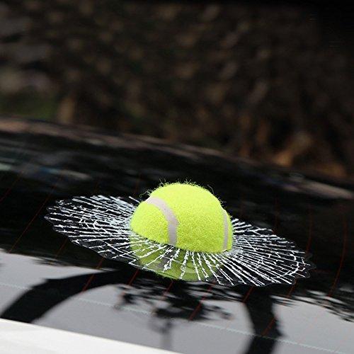 Bshine Autoaufkleber Lebensechte 3D Glasaufkleber (Tennis)