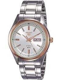 Seiko Analog White Dial Men's Watch - SNKN90K1