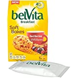 Belvita Baies Rouges Doux Cuire 5 X 40G (Paquet de 4)