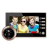 """4.3""""LCD HD Display Digitaler Türspion mit Weitwinkel 160° für Türstärken"""