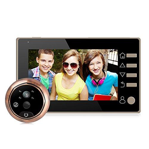 """4.3""""LCD HD Display Digitaler Türspion mit Weitwinkel 160° für Türstärken von 35mm-110mm"""