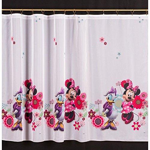 Mousse di minnie & daisy voile tendine 150cm larghezza x 145cm goccia