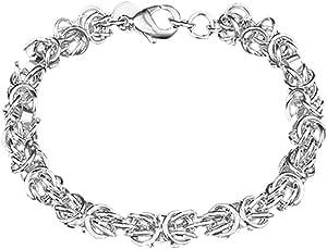 Amesii Braccialetto da donna in argento Sterling 925