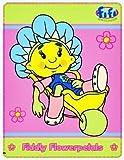 Fifi und die Flowertots Schubkarre Fleece Decke / Überwurf Decke Offiziell Lizenzierte Produkt ( fifi und die Flowertots )