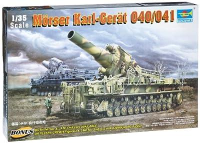 Trumpeter 00215 Modellbausatz Mörser KARL-Gerät 040/041 von Faller