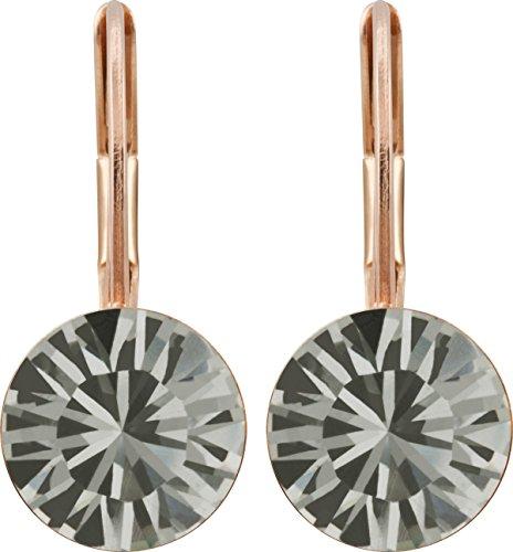 orecchini-placcati-oro-rosa-con-cristallo-swarovski-da-9-mm-placcato-oro-colore-nero-cod-hk39tb-rg-b