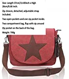 LeahWard Mens Womens Canvas Satchel Handbags Ladies School Messenger Bags 2039 160434 (160434-Grey)