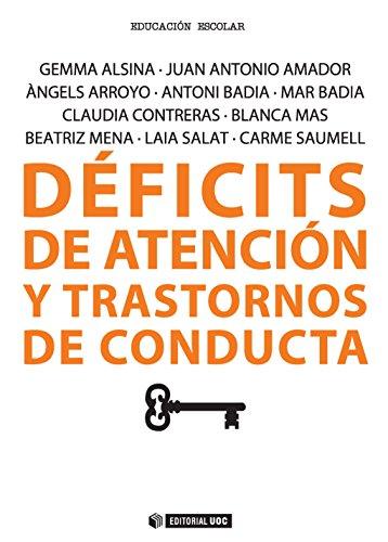 Déficits de atención y transtornos de conducta (Manuales)
