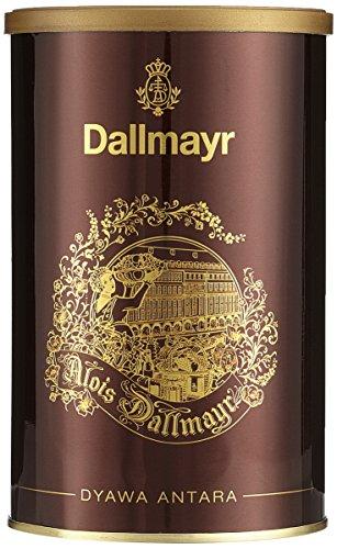 Dallmayr Kaffeedose Dyawa Antara, rot, für 250g Filterkaffee, Schmuckdose 2er Pack (2 x 0,25 kg)