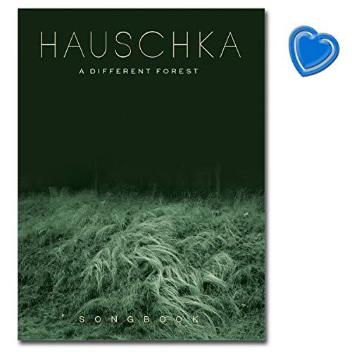 Hauschka: A Different Forest - neue Album (2019) von Volker Bertelmann - Songbook für Klavier mit herzförmiger Notenklammer