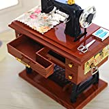 Best Sewing Table - Music Box New , YOYOUG Vintage Music Box Review