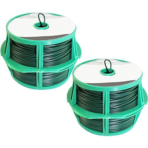 Com-Four fil 2 x vert, sur bobine pour env. Ø 1,25 mm x 50 m
