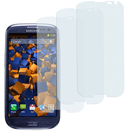 mumbi Schutzfolie kompatibel mit Samsung Galaxy S3 Folie, Galaxy S3 Neo Folie klar, Bildschirmschutzfolie (3x)