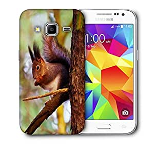 Snoogg Squarril Printed Protective Phone Back Case Cover For Samsung Galaxy CORE PRIME