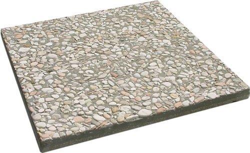 Base in pietra per ombrellone peso 20 kg - misura 50x50 cm