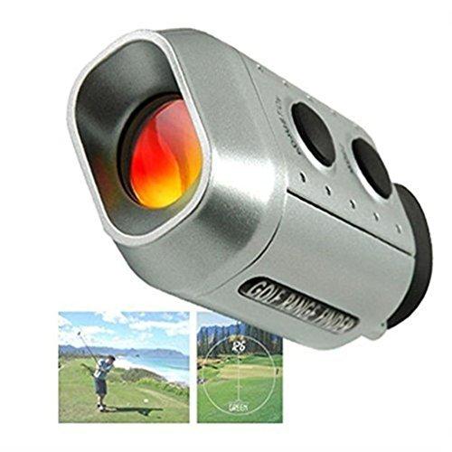 CSG Sport Service Die CSG Digital 7x Golf Range Finder Golf Scope Gepolsterte Tasche in Meter Abstand