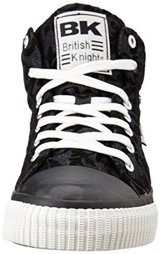 British Knights DEE MÄDCHEN HIGH-TOP-SCHUH SNEAKER Noir