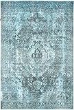 Nain Trading Vintage Royal 299x201 Orientteppich Teppich Dunkelgrau/Blau Handgeknüpft Pakistan Design Teppich Modern