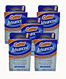 #2: Cutter Advanced Insect Repellent Fragrance Free Wipes 6x7' 3 Count (Pack of 6)